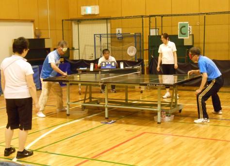 卓球大会の写真