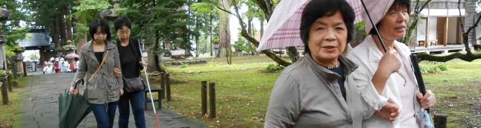 【スライド写真6】マイナスイオンいっぱいの公園の散策